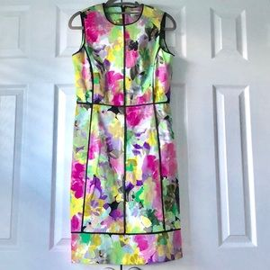 Colorful blocked Calvin Klein Dress size 4